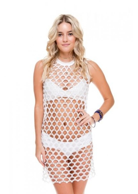 Платье пляжное Luli Fama WHAT A CATCH DRESS