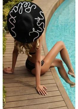 Шляпа пляжная Empire of Summer Black