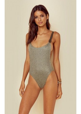 Купальник Blue Life Buckled Overall One Piece Tarnished Gold