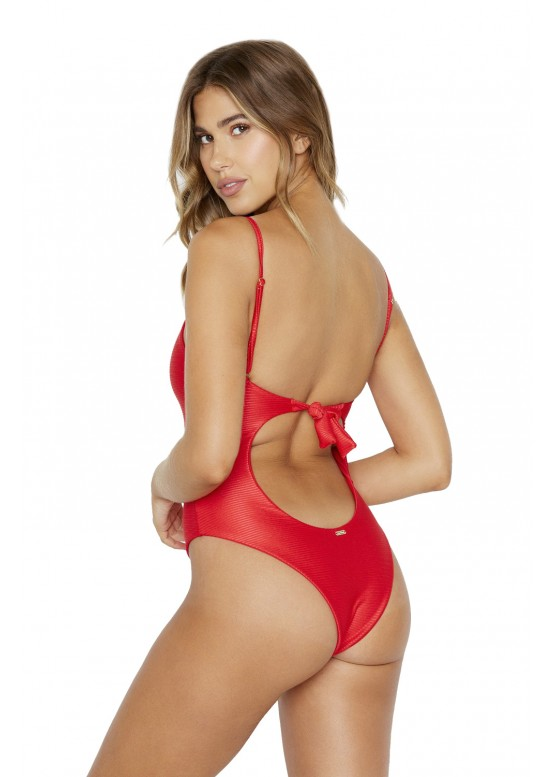 Купальник Beach Bunny Katrina One Piece Red Rib