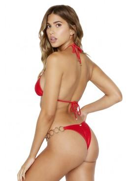 Купальник Beach Bunny Nadia Triangle Top & Lexi Tango Bottom Red Rib