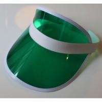 Козырёк пляжный (зелёный)