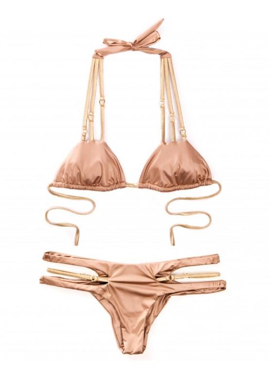 Купальник Bunny Basics Cut Out Bikini Bronze
