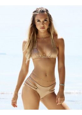 Купальник Bunny Basics Cut Out Bikini Bronze