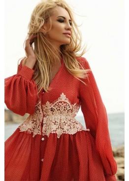 Пляжное платье Red Shine