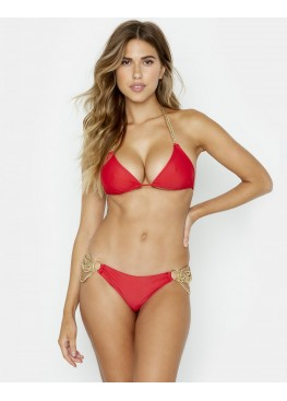 Купальник Beach Bunny Ball and Chain Triangle Top & Skimpy Bottom Red