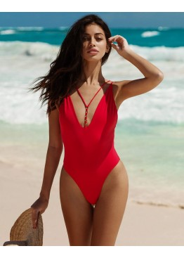 Купальник Beach Bunny IRELAND RING ONE PIECE REDD