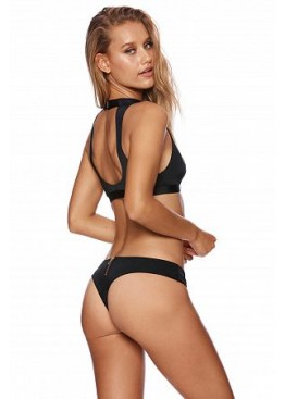 Купальник Beach Bunny Zoey Bralette Black & Tango Bottom